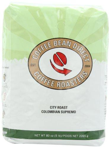 Coffee Bean Direct Dark Whole Bean Coffee, 5 Pound