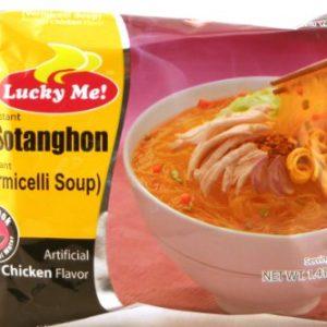 Instant Sotanghon / Vermicelli Soup – 6 x 1.41 oz by Lucky Me