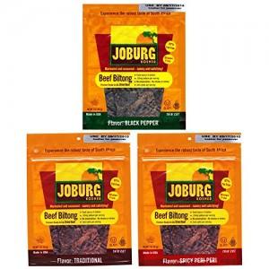Joburg – Gourmet Beef Biltong South African Jerky – Glatt – Kosher For Passover (OU)