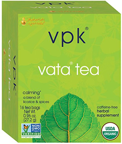 Organic Herbal Dosha Tea, 16 Herbal Tea Bags, .96 oz (27.2 g)