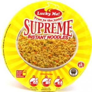 Supreme Bulalo (Artificial Bone Marrow Flavor Instant Mami Noodles) – 2.29oz (Pack of 6)