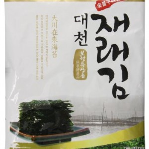Korean Seasoned Seaweed Snack, Olive Oil, 2.82 Ounce