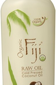 Organic Fiji Raw Cold Pressed Coconut Oil, 12 oz.