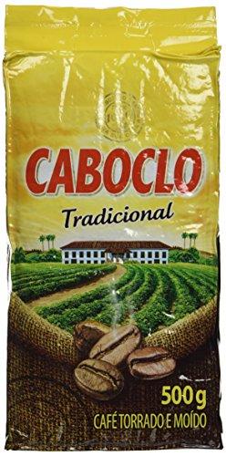 Roast n' Ground Coffee From Brazil – Café Torrado e Moido – Caboclo 17.60oz (500g) GLUTEN FREE