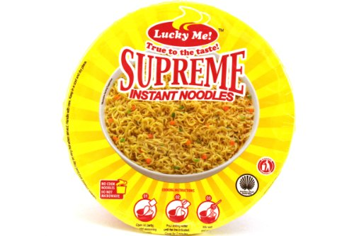 Supreme Bulalo (Artificial Bone Marrow Flavor Instant Mami Noodles) – 2.29oz (Pack of 6)