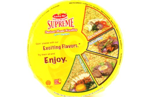Supreme Value Meal (Pinoy Chicken Mami) – 2.29oz (Pack of 6)