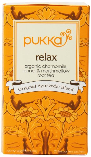 Pukka Herbal Teas Three Ginger Caffeine Free, 20 Count